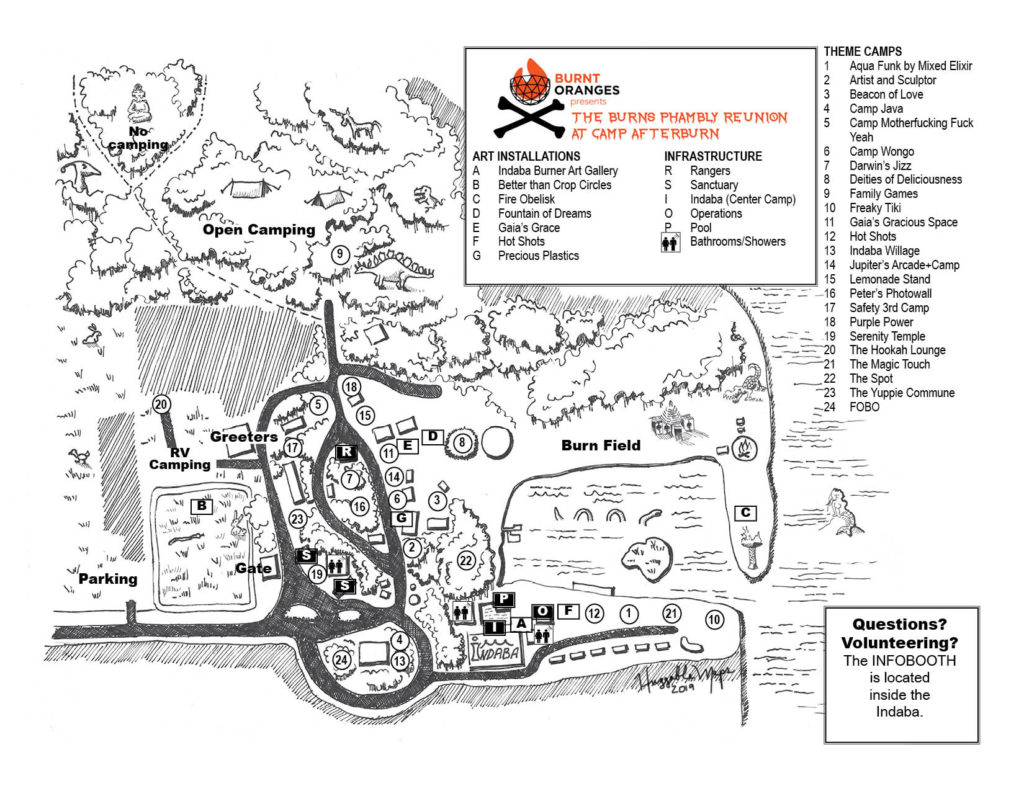 AfterBurn site map